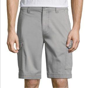 St. John's Bay Comfort Stretch Cargo Shorts